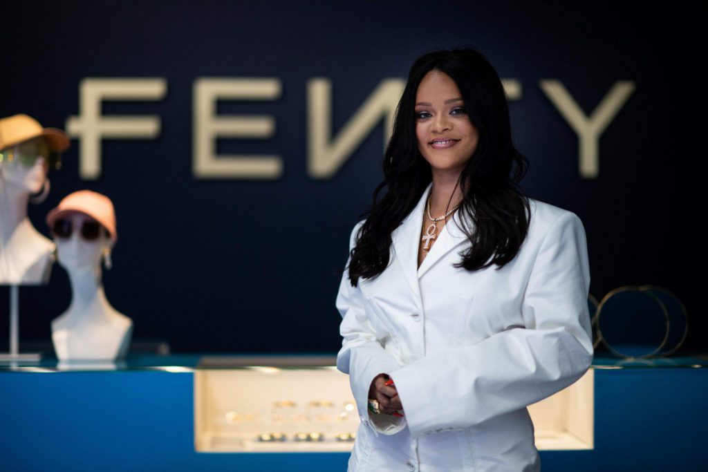 Rihanna Launches Luxury Fenty Brand Store in Paris